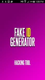 Fake ID Generator & ID Maker - náhled