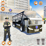 Offroad Police Bus Driving Simulator