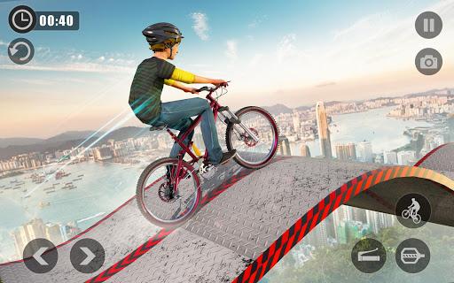 Extreme BMX Cycle Stunts Impossible Tracks 1.0 screenshots 1