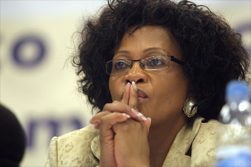 Environmental affairs minister Nomvula Mokonyane