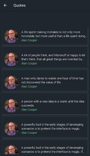 Alan Cooper Quotes 1.7 screenshots 1