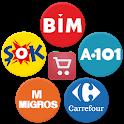 Market Broşürleri - Aktüel Ürünler Broşürleri icon