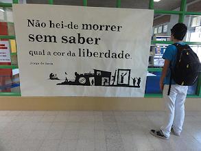 Photo: niciativa na E.B.I. de Santo Onofre