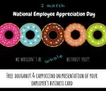 National Employee Appreciation Day : Blos Cafe