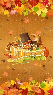 Thanksgiving Live Wallpaper - Autumn Theme - náhled