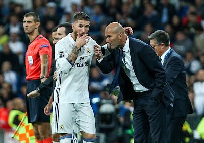 "Zidane monte au créneau: ""On ne peut pas douter de Sergio Ramos"""