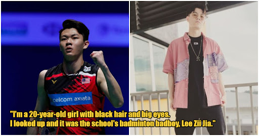 """The Badminton Badboy"" M'sian Writes Fan Fiction For Lee Zii Jia As A Joke, Goes Viral Instead"