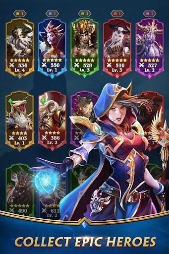 Deck Heroes: Puzzle RPG screenshot 3