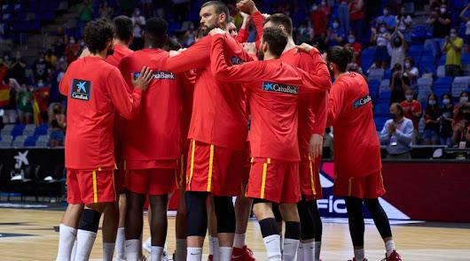 España pierde frente a EE. UU.