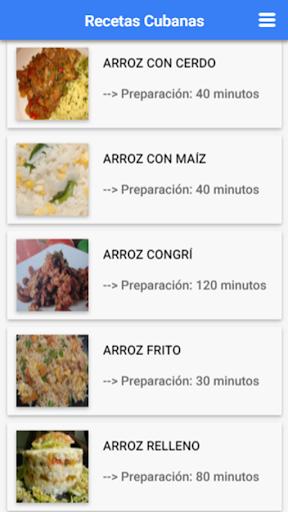 Recetas Cubanas: Cocina Cubana 1.2.3 Screenshots 4