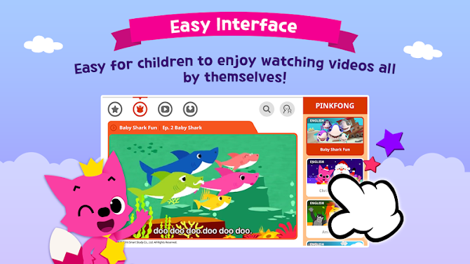 PINKFONG TV - Kids Baby Videos Android 11