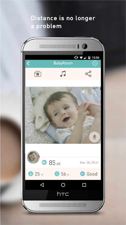 Lollipop - Smart baby monitor- screenshot