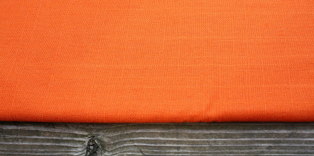 Photo: #3 orange broadcloth