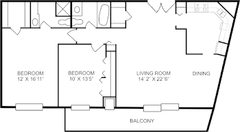 Go to John Tyler Floorplan page.