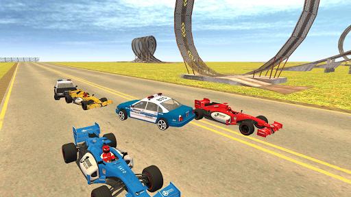 Formula Car Racing u2013 Police Chase Game 1.19 screenshots 11