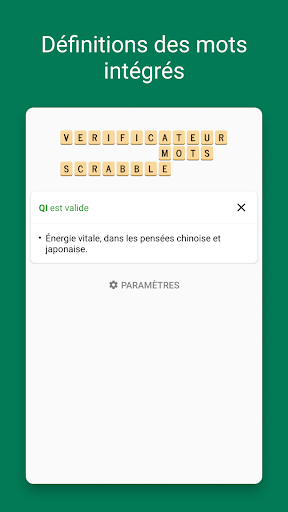 Verificateur Mots SCRABBLE 15.3.1 screenshots 2