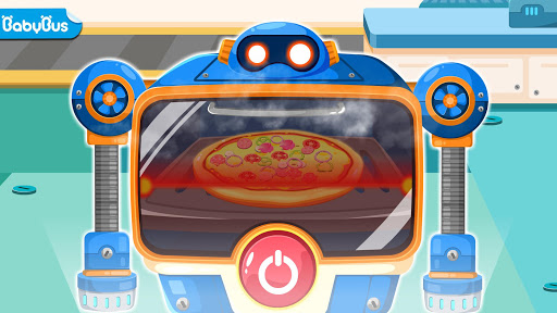 Little Panda Chefu2019s Robot Kitchen-Kids Cooking 8.25.10.00 Screenshots 1