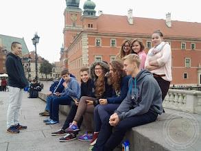 Photo: Wycieczka klas III do Warszawy