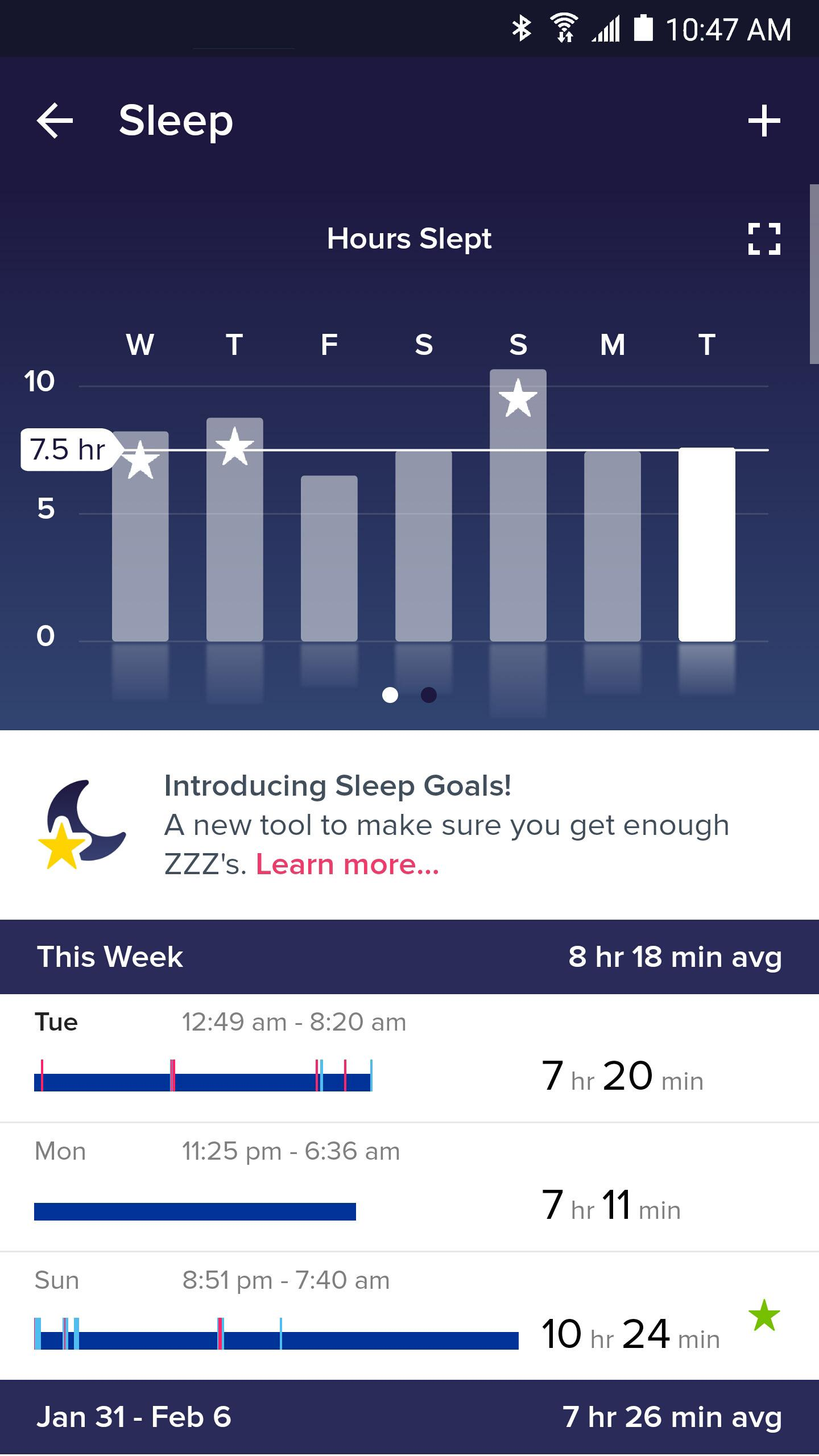 Fitbit screenshot #5