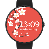Sakura Watch Face Android FWF