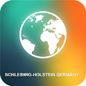 Schleswig-Holstein Germany Map icon