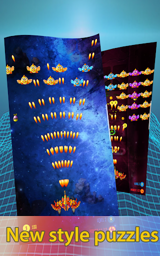 Télécharger Alien shooter! Chicken shooter : Galaxy attack APK MOD (Astuce) screenshots 1