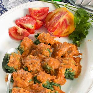Rustic Spinach Pasta + Sauce