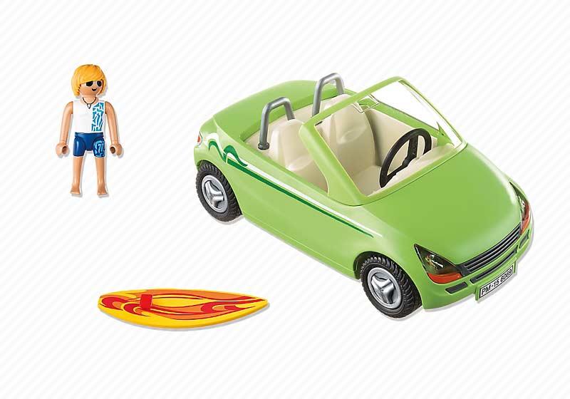 Contenido de Playmobil® 6069 Surfista con Descapotable