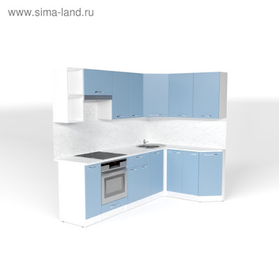 Кухонный гарнитур Евгения прайм 5 2300*1500 мм