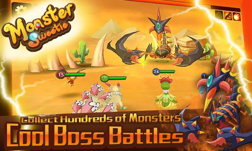 Monster Sweetie v1.2.0 APK (Mod Max Damage)