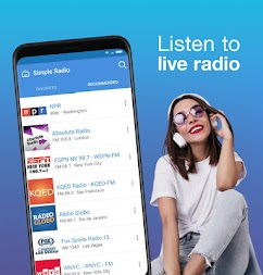 Simple Radio - Free Live FM AM Radio APK screenshot thumbnail 3