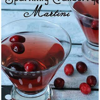 Sparkling Cranberry Martini.