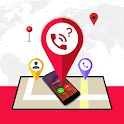 Mobile Number Call Tracker icon