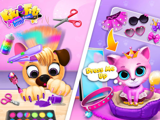Kiki & Fifi Pet Beauty Salon - Haircut & Makeup apkpoly screenshots 15