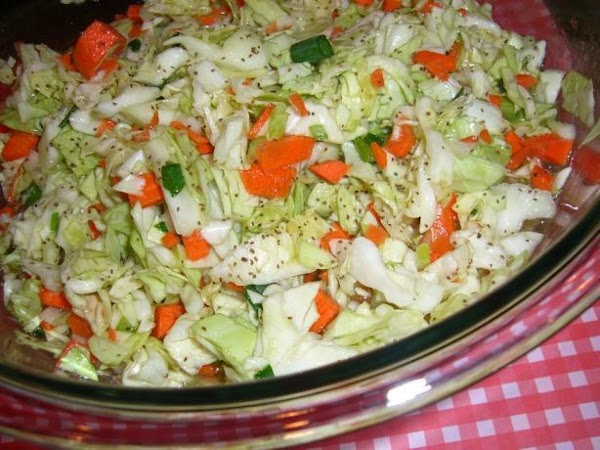 Amish Overnight Coleslaw Recipe