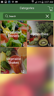 Nutritious Alternatives- screenshot thumbnail
