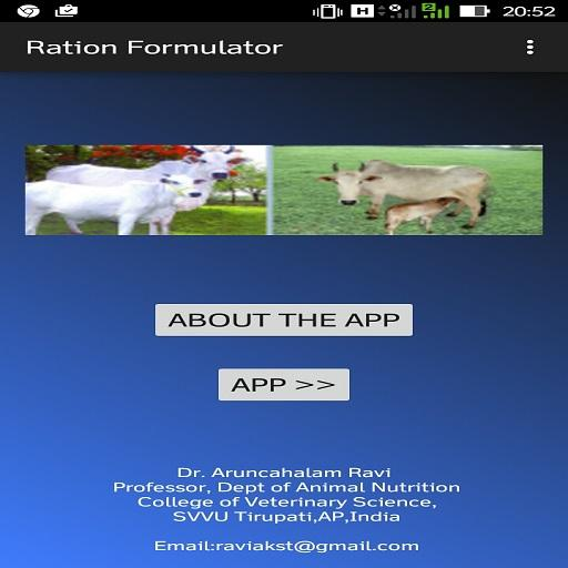 Dairy Cattle Ration Formulator – Apps on Google Play