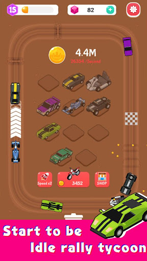Merge Car Racer - Idle Rally Empire 2.7.0 screenshots 5