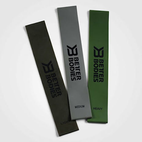 Better Bodies Resistence Mini Band 3-pack