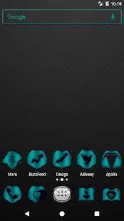 Teal Fold Icon Pack ✨Free✨ - náhled