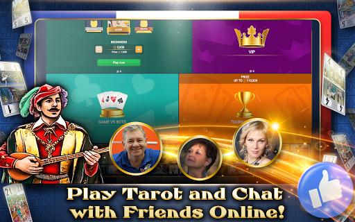 VIP Tarot - Free French Tarot Online Card Game 3.6.17 screenshots 9