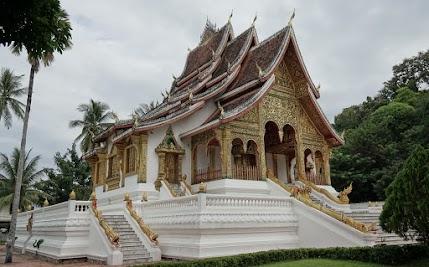Vat Sop Sickharam in Luang Prabang.