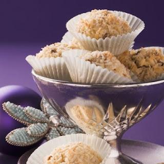 Coconut Rum Cookies.