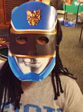 Photo: Kaleya and her mask