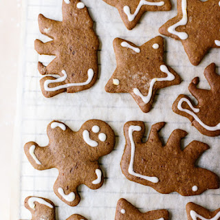 Healthier Gingerbread Cookies