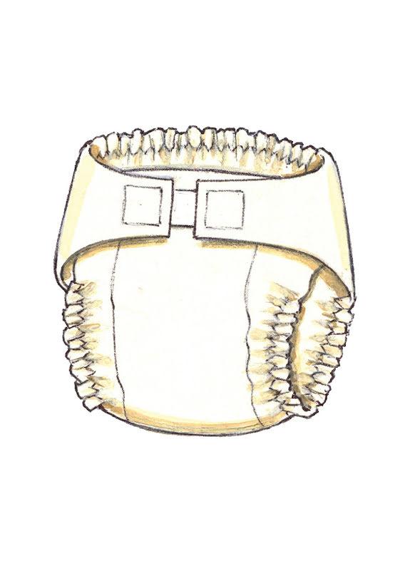 Tygblöja Kwik Sew 3690