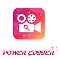 Power Editor - Video Editor App, Best Video Maker icon