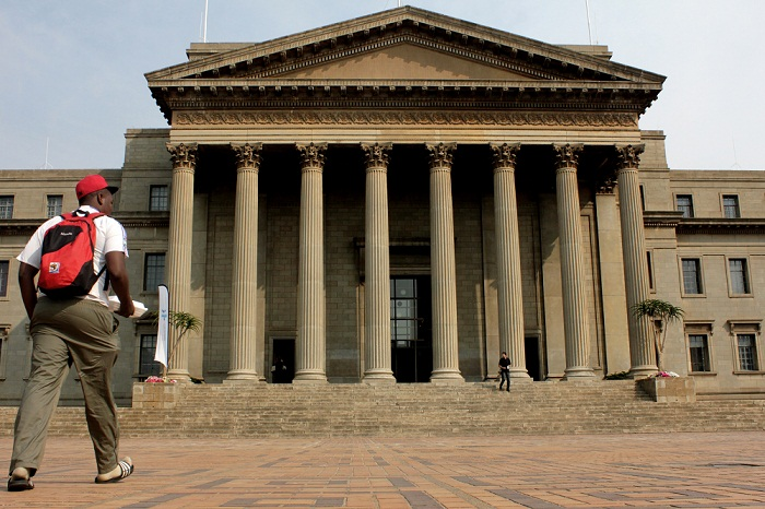 The Great Hall at the University of Witwatersrand. Picture: THE TIMES