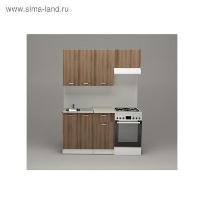 Кухонный гарнитур Яна нормал, 1500 мм
