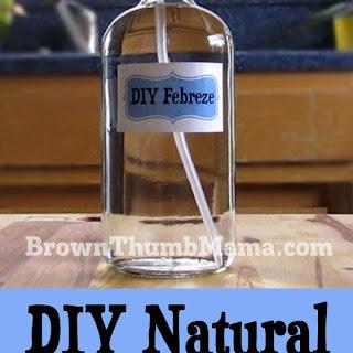 DIY Natural Febreze Recipe